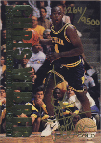 1993 Classic Gold #NNO Chris Webber AU 1264/9500 (in BOX!) (X)