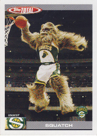 2004-05 Topps Total #428 Squatch (X)