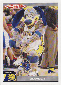 2004-05 Topps Total #439 Bowser (X)