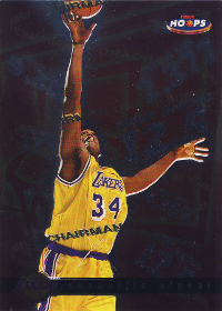 1997-98 Hoops Chairman of the Boards #CB1 Shaquille O'Neal (X)