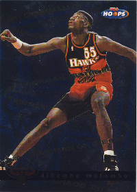 1997-98 Hoops Chairman of the Boards #CB2 Dikembe Mutombo (X)