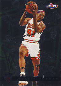 1997-98 Hoops Chairman of the Boards #CB3 Dennis Rodman (X)