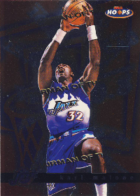 1997-98 Hoops Chairman of the Boards #CB6 Karl Malone (X)
