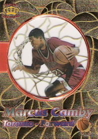 1996 Pacific Power Jump Ball #JB4 Marcus Camby (X)