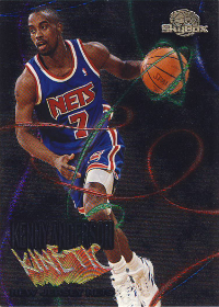 1995-96 Skybox Premium Kinetic #K7 Kenny Anderson (X)