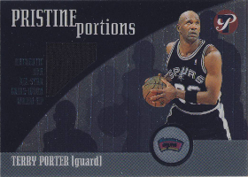 2001-02 Topps Pristine Portions #PPTP Terry Porter