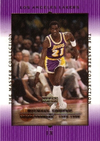 2000 Upper Deck Lakers Master Collection #9 Michael Cooper 134/300