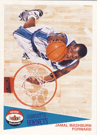 2001-02 Fleer Shoebox Footprints #142 Jamal Mashburn 034/150