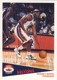 2001-02 Fleer Shoebox Footprints #165 Rodney White 061/150
