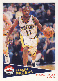 2001-02 Fleer Shoebox Footprints #172 Jamaal Tinsley 143/150