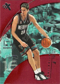 2001-02 E-X Essential Credentials Now #117 Pau Gasol 54/57