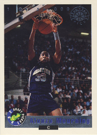 1992 Classic LPs #LP2 Alonzo Mourning /56000