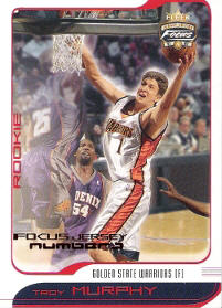 2001-02 Fleer Focus Numbers #117 Troy Murphy 07/10