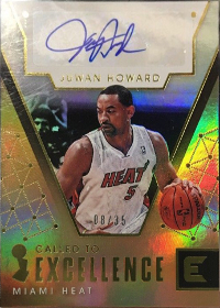 2017-18 Panini Essentials Called to Excellence Autographs Gold #29 08/35 (X)